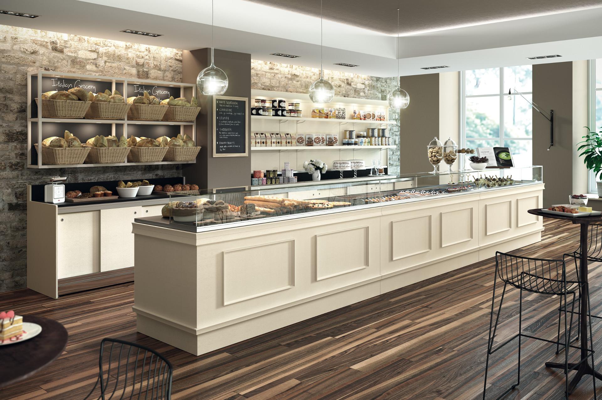 Arredamenti e attrezzature per bar ristoranti gelaterie for Arredamenti per panifici