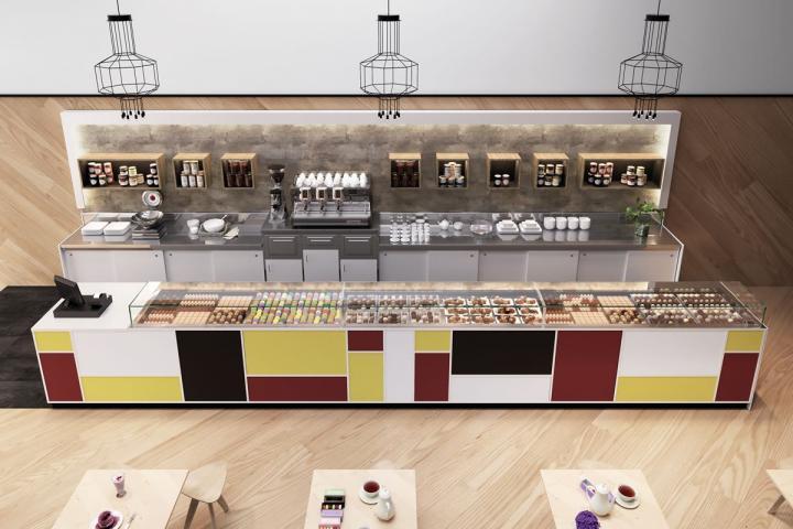 Arredo bar modello madison frigomeccanica cagliari for Arredamento bar economico