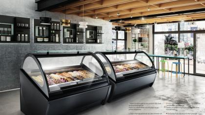 Arredo banchi frigo vetrine gelateria cagliari for Saba arredamenti