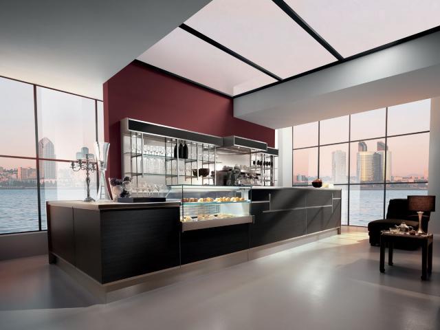 Arredo bar modello shanghai frigomeccanica cagliari for Saba arredamenti