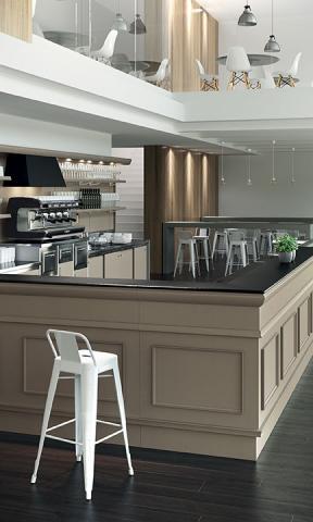 Arredo bar modello trinidad 2015 frigomeccanica cagliari for Saba arredamenti