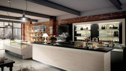 Arredamenti e attrezzature per bar ristoranti gelaterie for Saba arredamenti