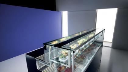 Arredamenti pasticceria e sistemi di refrigerazione per for Saba arredamenti